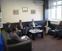 Zëvendësministri Emini takoi koordinatorin e TIKA-s për Kosovë, Hasan Burak Ceran