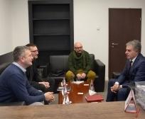 Zëvendësministri Kilaj priti në takim përfaqësuesit e Caritas-it Zviceran për Kosovë