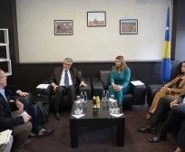 Ministrja Zivic, priti në takim ambasadorin francez, Didier Chabert