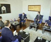 Kryeministri Kurti dhe ministri Peci diskutuan për sektorin e bujqësisë me ambasadoren e Holandës