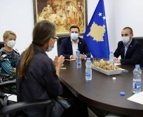 Ministri Mustafa ka pritur në takim përfaqësuesen e përhershme të UNDP-së, Maria Suokko dhe koordinatoren për zhvillim nga UN, Ulrika Richardson