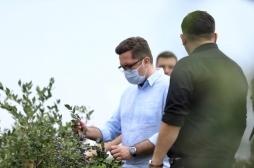 Ministri Mustafa: Do të vazhdoj mbështetja për kultivuesit e frutave