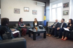 Ministrja Zivic takoi drejtoreshën e USAID-it, Lisa Magno
