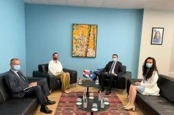 Ministar Faton Peci sastao se sa ambasadorkom Hrvatske Danijelom Barišić