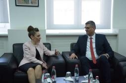 Ministri Rikalo priti ambasadoren e Turqisë, Kivilcim Kiliç dhe delegacionin e TIKA-s