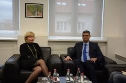 Ministri Rikalo u takua me ambasadoren e Kroacisë, Marija Kapitanovic