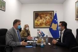 Ministri Mustafa priti në takim Ambasadorin e Hungarisë në Kosovë
