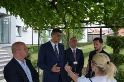Ministri Rikalo vizitë në qytetin e Rahovecit