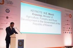 Ministar Krasniqi učestvuje na Globalnom forumu za inovacije u poljoprivredi