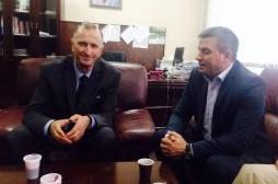 Zëvendësministri Januzi takoi dekanin e Fakultetit të Bujqësisë, Bedri Dragusha