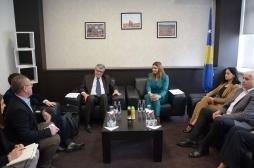 Ministarka Živić, sastanak sa Ambasadorom Francuske, Didier Chabert