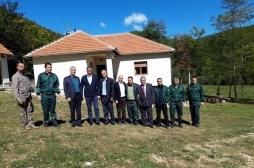 "Ministar Nenad Rikalo obišao lovište od posebnog značaja ""Dubočak"""