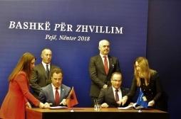 Kosova dhe Shqipëria vazhdojnë heqjen e barrierave tregtare për produktet bujqësore