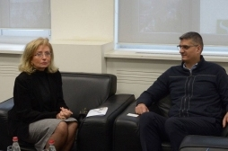 Ministar Rikalo se sastao sa Ambasadorom Grcke na Kosovu g-djom,  Konstantinom Atanasidau