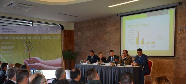 Ministri Krasniqi prezantoi para fermerëve Programin për Zhvillim Rural dhe Pagesa Direkte prej 43 milion eurove