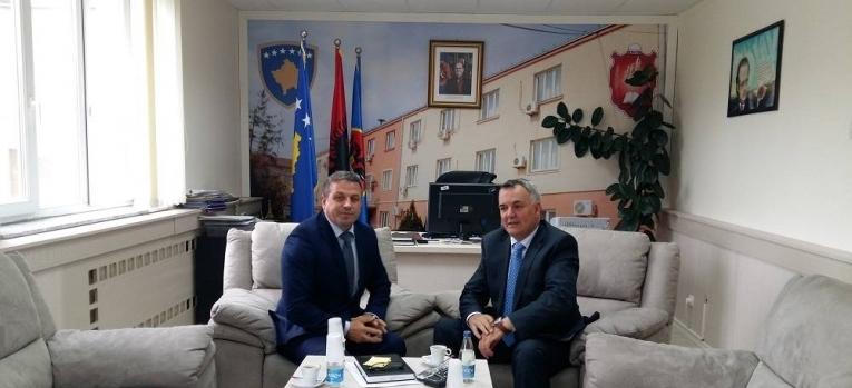 Zëvendësministri Januzi takoi kryetarin e Komunës së Lipjanit, Imri Ahmeti