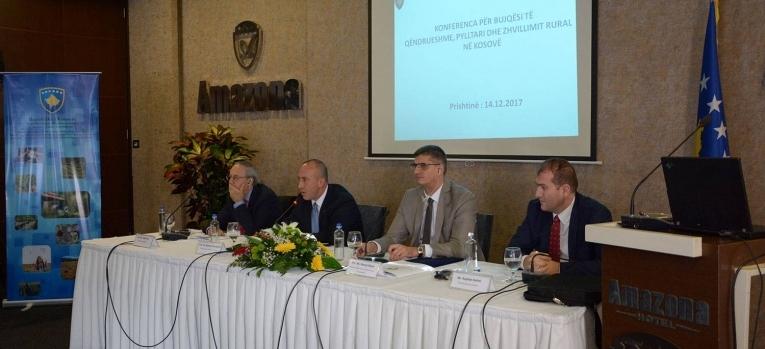 MBPZHR-ja rritë mbështetjen për bujqësinë, pylltarinë dhe zhvillimin rural për vitin 2018