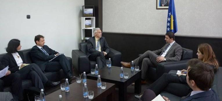 MBPZhR-ja dhe Banka Botërore do të vazhdojnë bashkëpunimin në fushën e bujqësisë