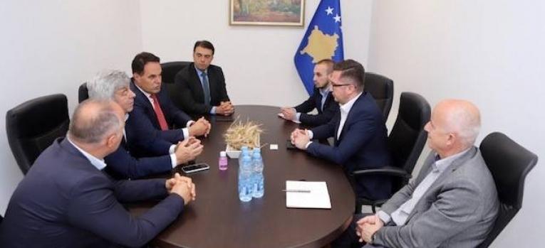 Ministar Mustafa primio je na sastanku predstavnike Kluba proizvođača Kosova
